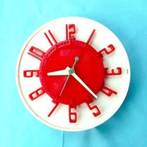 Vintage GE Telechron Wall Clock MCM